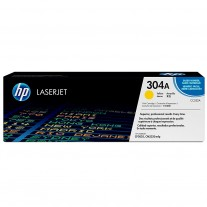 Cartucho De Toner LaserJet HP 304A Color Amarillo