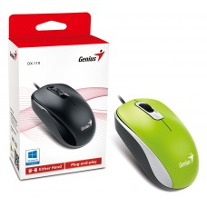 Mouse Genius DX-110 USB Verde