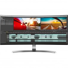 Monitor Curvo LG 34 IPS/ Ultrawide resolucion 3440*1440 con HDMIx2, Display Port x 1, Thunderboltx2