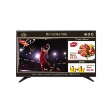 TV + Cartelera Digital y/o SuperSign TV  LG, 55, 400 Nit, 16x7, WebOs 3.5, Smart Home, WiFi.