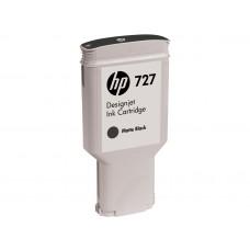Cartucho de tinta HP 727 DesignJet negro mate de 300 ml