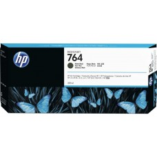 Cartucho de tinta DesignJet HP 764 de 300 ml negro mate