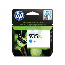 Cartucho De Tinta Color Cian Hp 935Xl