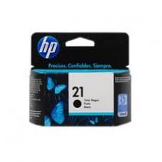 Cartucho de Inyección de Tinta Color Negro HP 21