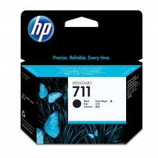 CARTUCHO HP NEGRO  711 Designjet T120 and HP Designjet T520 80ml PROMOCION CON PLOTTER