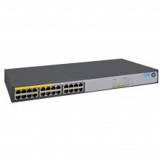 Switch HP 1420-24G-PoE+ (124W), 12 10/100/1000 Poe +, 12 10/100/1000, No adminitrable, Capa 2, no ap