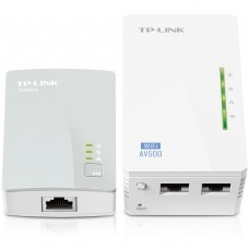 Extensor Tplink Powerline WiFi Tlwpa4220 Kit Av500