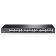 48-port Gigabit Switch 48 101001000M RJ45 ports 1U 19-inch rack-mountable steel case