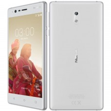 "Celular Nokia 3 16GB Quad-core 8MP 5"" - Blanco"