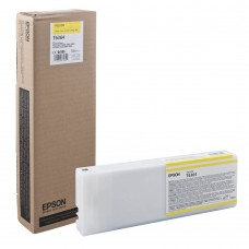 Cartucho De Tinta Epson T636400 Amarillo 700Ml. Ultrachrome