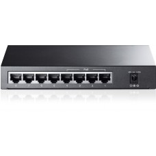 8-port 10/100Mbps Desktop PoE Switch 8 10/100Mbps RJ45 ports including 4 PoE ports steel case