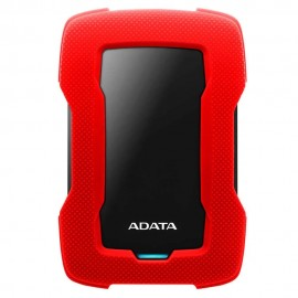 Disco Duro Externo Adata Hd330 2 5 2Tb Usb 3 1 Rojo Para Pc