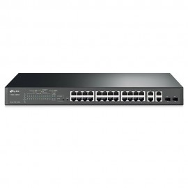 Switch Inteligente 24Puertos 10 100Mbps 4Puertos Gigabit Poe