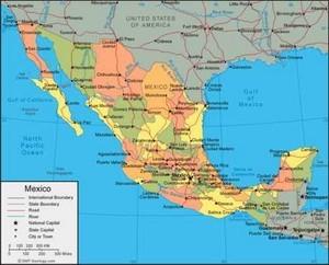 Mapa Mexico Para GPS Garmin
