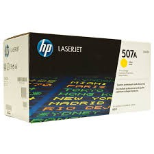 Cartucho de Toner HP 507A LaserJet Color Amarillo