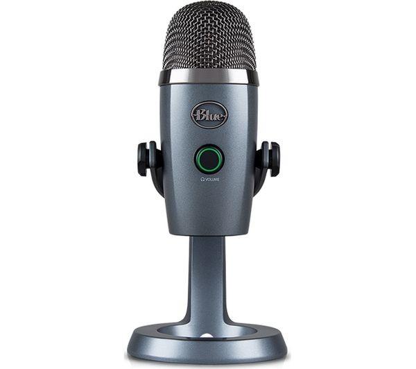 Microfono Profesional Logitech Yeti Nano Gris