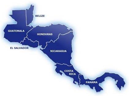 Mapas De Centro America Para GPS Garmin Ruteables