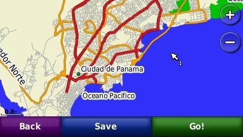Mapa Panama Para GPS Garmin Ruteable Mapas