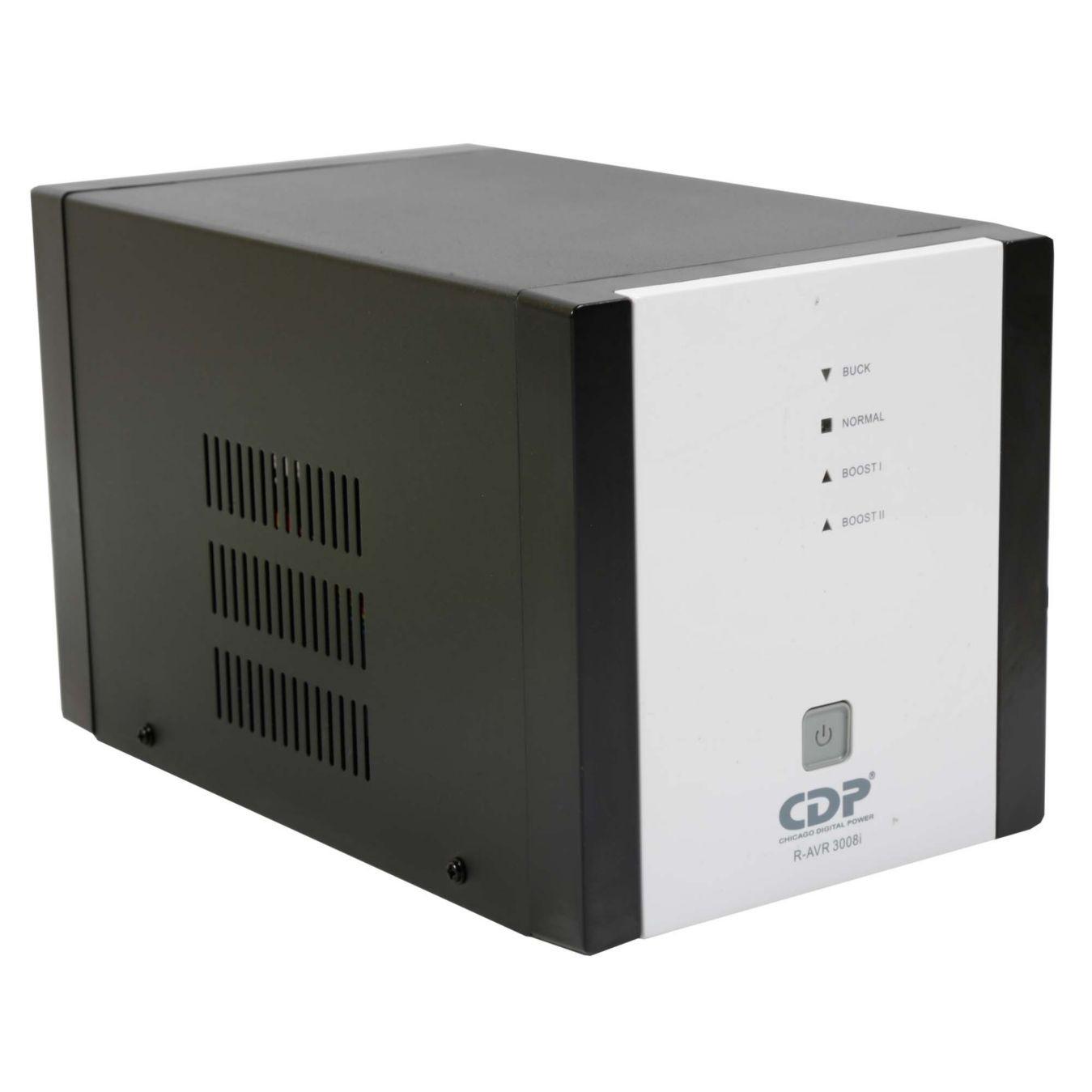 Regulador de Voltaje CDP, 2000VA/1800W 8 Tomas de Salida