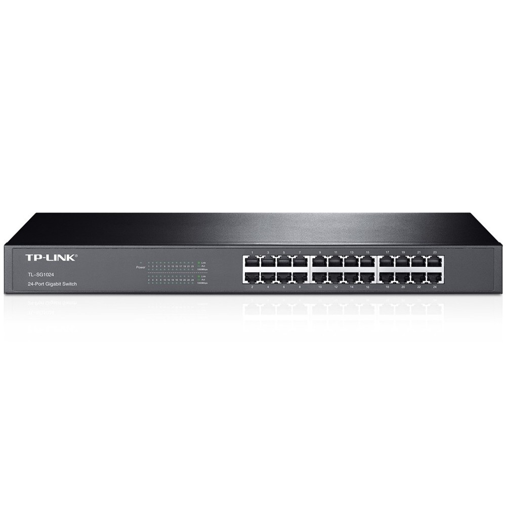 Switch Tplink Tlsg1024 Gigabit 24 Puertos
