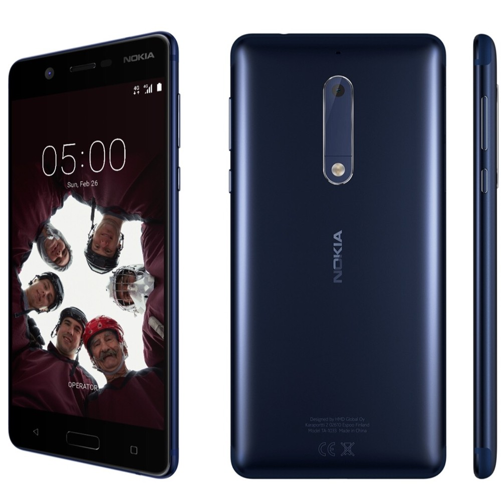 "Celular Nokia 5 16GB Octa-core 13MP 5.2"" - Azul"