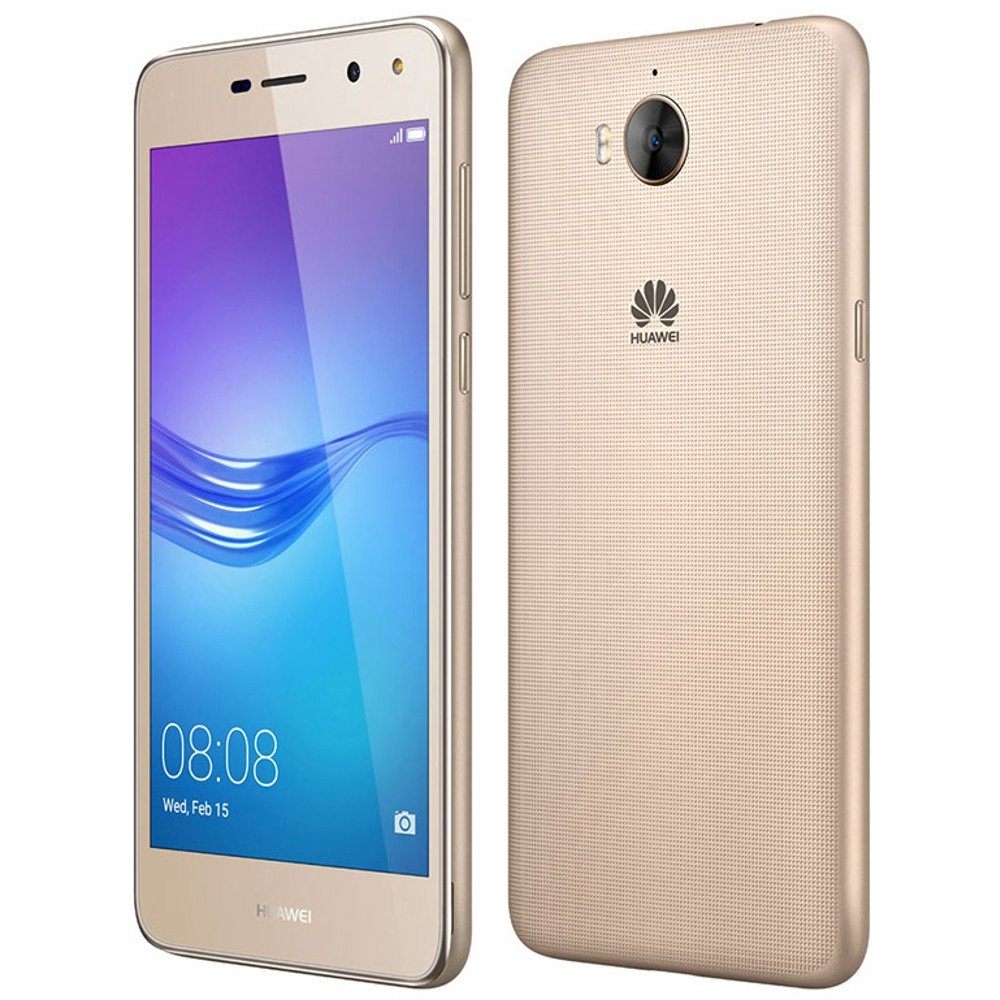 Celular Huawei Y5 2017 Quad Core 16Gb 8Mp 5 Pulg Dorado
