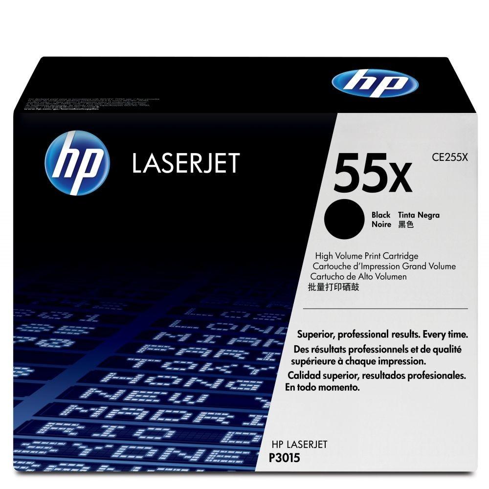 Toner LaserJet Alto Rendimiento HP 55X